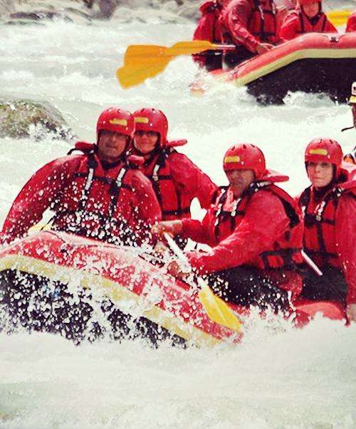 Rafting fiume Noce Pejo